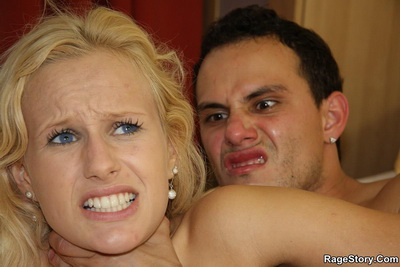 His naughty girlfriend fucked his brother and now he's going to pound the hell out of her